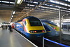 East Midlands Trains HST 43058 & Eurostar Velaro 374007 (Will Swain) Tags: london st pancras station 5th october 2017 greater capital city south east train trains rail railway railways transport travel uk britain vehicle vehicles country england english emt stagecoach group midlands hst 43058 eurostar velaro 374007 class 43 374