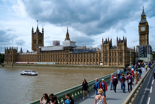 House of Parliament from Westminster Bridge