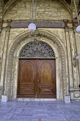 Courtyard, one of its door (T Ξ Ξ J Ξ) Tags: egypt cairo fujifilm xt20 teeje fujinon1655mmf28 citadel old town salahaldin medieval mokattam muhammadali unesco