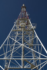 tower of communication (Ihor Hlukhoi - intui.pro) Tags: ukraine lviv tower communication sky streetphoto construction abstract photo photographer photography intuipro nikon nikond7100 d7100 metalwork metallic