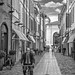 Street in Ravenna/ Italy