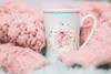 Cosy Holidays (Veronica Dimova photography) Tags: cup hot milk pink cosy jolidays cosiness warmth