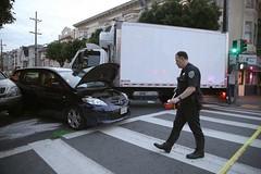 7 injured in truck crash in SF's Richmond District (Biphoo Company) Tags: 21stavenue 7injuredintruckcrashinsfsrichmonddistrict gearyboulevard rachelswan richmonddistrict sanfrancisco steverubenstein
