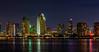 San Diego skyline from Centennial Park, Coronado, California (ttchao) Tags: centennialpark coronado sandiego nightphotography skyline nikon d810 70300mm