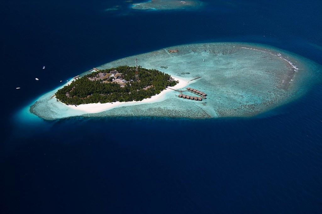 Fihalhohi Island Resort - Aerial