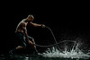fitness on water (DanielMilchev) Tags: fitness crossfit battle ropes water silhouette action advertising commercial photo daniel milchev ad campaign profoto canon vail colorado photographer