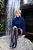 #Alternate - January 5, 2003 (WindJammer Photo) Tags: january 2003 indoor portrait alternate waterfall skirt heels beauty beautiful gorgeous blonde wife smile