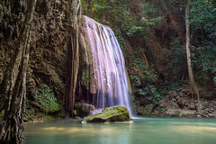 Erawan 37 (technodude67) Tags: acqua asia kanchanaburi landscape longexposure mountain nature river th thailand travel wanderlust wild changwatkanchanaburi