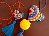 Dos corazones de distinto tamaño sobre lino amarillo (María Tenorio) Tags: corazón heart embroidered embroidery handembroidery bordadoamano bordaramano bordado bordadofolk colgante colganteparabolso colganteparapuerta bagcharm stitchart needlework needlecraft