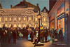 Digital Colored Pencil Drawing of the Palais Garnier at Night by Charles W. Bailey, Jr. (Charles W. Bailey, Jr., Digital Artist) Tags: operahouse palaisgarnier parisopera operagarnier salledescapucines boulevarddescapucines 9tharrondissement paris france europe topaz topazlabs topazclarity topazclean topazdejpeg topazdenoise topazrestyle topazimpression colorpencil coloredpencil colorpencildrawing coloredpencildrawing art fineart visualarts digitalart artist digitalartist charleswbaileyjr