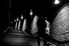 Stepping up (andersåkerblom) Tags: streetlife streetphotography streetphoto street streetshot blackandwhite monochrome blackwhite bw bnw