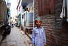 Varanasi, India (venkatfotos) Tags: varanasi india streets narrow boy color venkat venkatphotography indianphotography indianstreetphotography canoneos40d canon1740mm