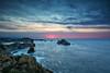Atardecer en los Urros (magomu) Tags: urros arnia cantabria atardecer sunrise mar cantabrico sea