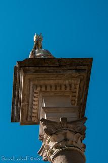 Capitello e Statua della Vergine - Piazza Duomo - Ravenna