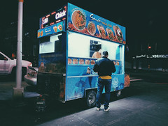H A L A L (Juni Safont) Tags: halal cart jamaicaave woodhaven queens nyc newyorkcity night light street people