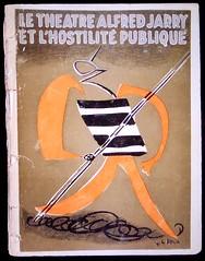 au théâtre, ce soir (2) (canecrabe) Tags: théâtre alfredjarry auteur antoninartaud rogervitrac brochure