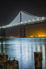 Waterfront (mvttbrown) Tags: 2016 bayarea baybridge bridge bridges california canon canonphotos embarcadero illuminated longexposure msb night nightsky oakland sanfrancisco tranquil urbex waterfront