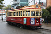 Tram (davidjamesbindon) Tags: christchurch new zealand south island travel old heritage historic tram transport