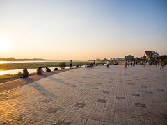 PC174983 (tatsuya.fukata) Tags: laos vientiane chaoanouvongpark mekongriver river sunset