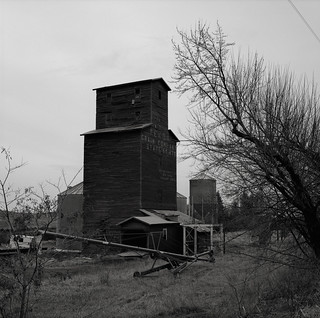 Grain Elevator, near Tekoa, Washington