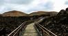 Road to volcano (Yaoluca) Tags: volcano vulcano lanzarote landscape island nature bridge sky clouds