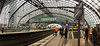 Berlin Hauptbahnhof, the top floor with six tracks. (iharsten) Tags: berlin hauptbahnhof december 2017