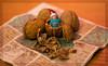 Found you! (SawardPhotography) Tags: christmas but wallnut hide peekaboo hello santa hat child kid son