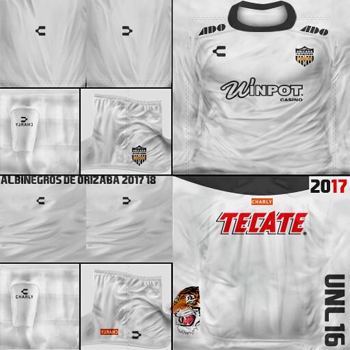 Albinegros de Orizaba 2017-18 02 Away (Kits FIFA SOCCER PC) Tags  8722945cc