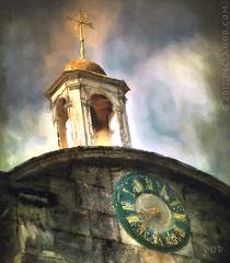Golden Hour (sbox) Tags: clock tower painterly russborough russboroughhouse wicklow ireland textures declanod sbox sky golden goldenhour time magicunicornverybest