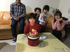 20171229_1月壽星生日 (violin6918) Tags: cake violin6918 taiwan hsinchu apple iphoto7plus i7 mobile home cute lovely littlebaby angel children child pretty princess baby portrait kid daughter girl family shiuan vina birthday birthdayparty 生日