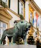 Guardian (JØN) Tags: nikon d700 85mmf14g 85mm luxembourg luxembourgcity winter christmas winterlights lion statue guardian bokeh panorama brenizer method brenizermethod