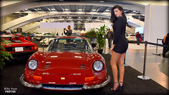 Dino 246 GT - 2017 San Francisco Auto Show (billypoonphotos) Tags: dino 246 gt v6 manwella ferrari female woman model san francisco auto show black dress billypoon billypoonphotos nikon moscone center photo picture car photographer photography bay area lady pretty sports italian race vehicle tire rim 2017 d5500 18140mm 18140 mm