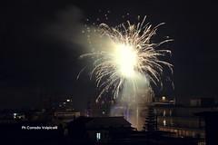 Firework in periphery (Corrado Volpicelli) Tags: firework fuochi night beauty periferia city naples neapel nàpoles evening light skyline