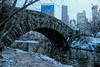 Gapstow Bridge Central Park NYC (nickdifi) Tags: architecture bridges winter ice snow centralpark nyc parks nature