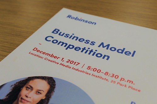 Fall 2017 HJ Russell Center Business Model Competition