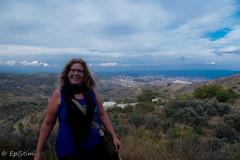 #selfie #myself #only me (epistimigallery) Tags: lefkes lefkesvillage lefkesparos paros parosisland parossky blueisland cyclades blueflag greek flag land lover travel selfie landscape ruins