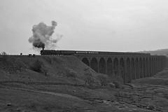 Ribblehead Duke (Nigel Valentine) Tags: 71000 duke gloucester ribblehead steam settle carlisle battymoss