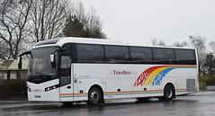 PO14HHW  The Travellers Choice, Carnforth (highlandreiver) Tags: po14hhw po14 hhw the travellers choice carnforth lancashire volvo jonckheere bus coach coaches gretna green