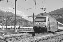 brig - settembre 2017 #11 (train_spotting) Tags: brig briga brigue valais wallis bbcffffs sbb re4600052 valdanniviers slm abb thales nikond7100