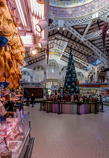 Inside The Historic & Ornate Mercado Central in Valencia (Fujifilm X70 Compact with 21mm wide converter)   (1 of 1)