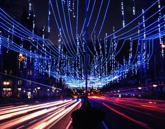 Christmas lights in Madrid. (fmariamartin) Tags: nikon coolpix p530 lights christmas navidad madrid luces madridcitymola