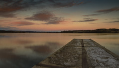 A year later (Alessio Bertolone) Tags: lake landscape lago paesaggio reflections riflessi cielo sky colori colors clouds nuvole molo pontile pier jetty candia italia italy it inverno winter water acqua alessiobertolone tramonto sunset natura nature nikon d7000 dsrl reflex 1685mm