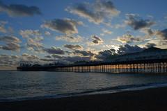 Brighton Pier (strikethepuck) Tags: brighton uk unitedkingdom pier brightonpier eastsussex england sunset seaside coast landscape seascape outdoor cloud brightonpalacepier
