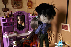 Capítulo 144 (Mundo Ara) Tags: barber shop diorama taeyang gyro doll groove boy male toy men