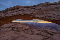 Mesa Arch Sunrise (jbeyre) Tags: sunrise utah canyonlands nationalpark desert arch sandstone outdoors canyon