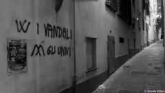 W i vandali... (Oreste Villari) Tags: canon g1x genoa genova street art urban life smile bw colours vicoli caricamento banchi sarzano maddalena pre campo deandrè mazzini garibaldi colombo writers arte