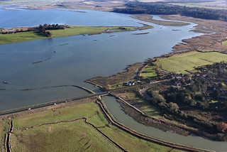 Blythburgh Bridge & Angel Marshes - Suffolk aerial