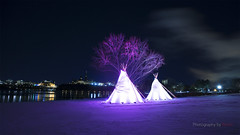 Chilly but Beautiful (Photography by Ramin) Tags: ottawa ont gatineau quebec canada parliament ontario canadian river night photography canada150