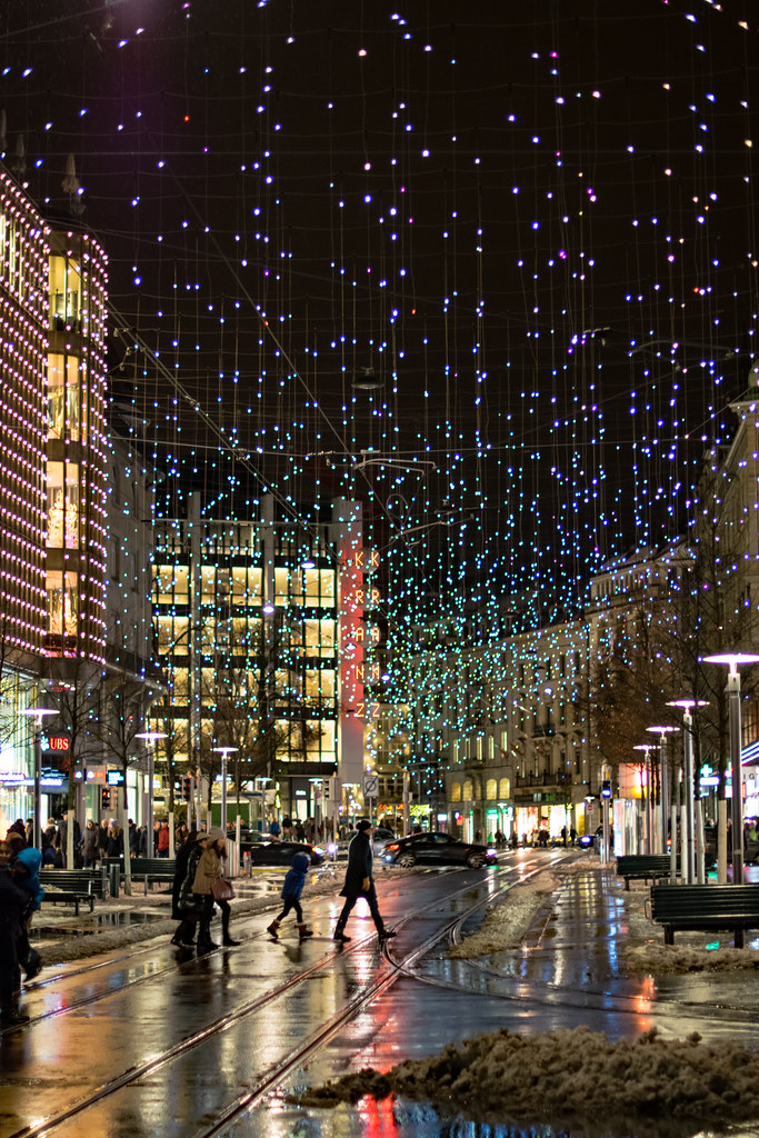 The World\'s most recently posted photos of bahnhofstrasse and night ...