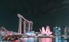 Helix Bridge and MBS (starlightz82) Tags: singapore asia southeastasia marinabay marinabaysands mbs helixbridge longexposure cityscape nightscape urban helix